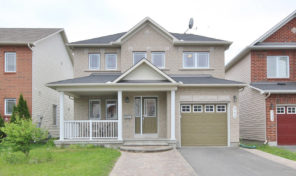 511 Paul Metivier Drive – Beautiful Home For Rent in Chapman Mills!