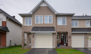 *SOLD* 912 Verbena Cres – Stunning End Unit Townhouse For Sale!
